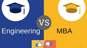 Engineering Vs MBA image