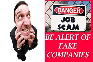 Fake company