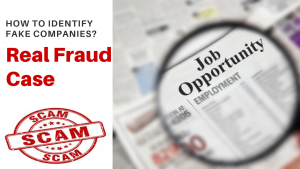 Job scams - Real Fraud Case study - how to identify fake company - India,USA,UK,France,Russia