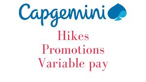 Capgemini hike promotions