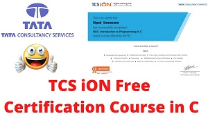 TCS_Certification_C